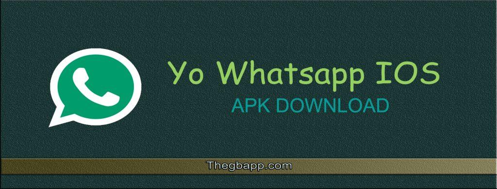 Yo Whatsapp IOS